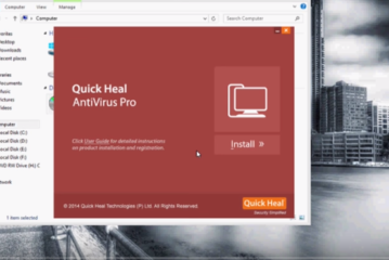 How to install Quick Heal Antivirus 2016 on windows 7, windows 8.1, windows 10 softpodium.com